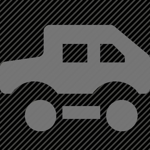 jeep, transportation, truck icon