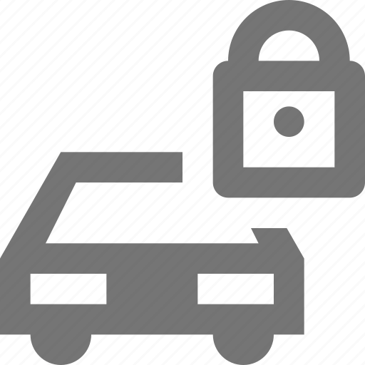 car, lock, privacy, security, transportation icon
