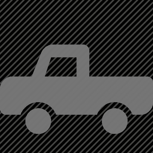 pickup, transportation, truck icon