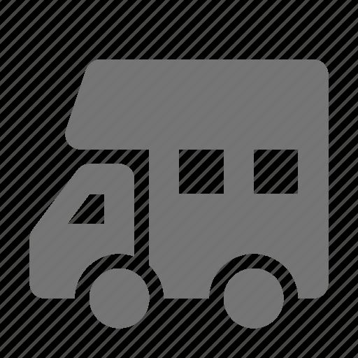 bus, rv, shuttle, transportation icon