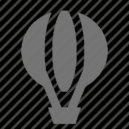 balloon, hot air balloon icon