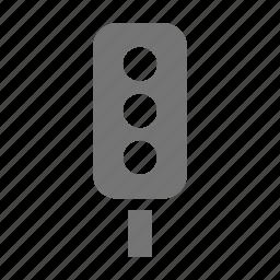 signal, stop light, traffic light icon