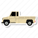 delivery, delivery van, transport, truck icon