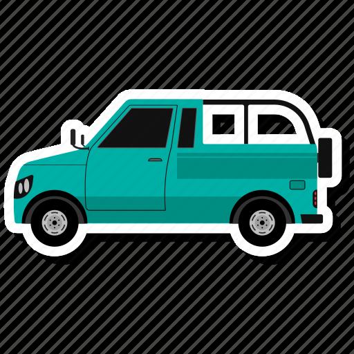 Jeep, van, transport, vehicle icon