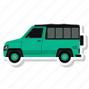 delivery, transport, van, vehicle icon