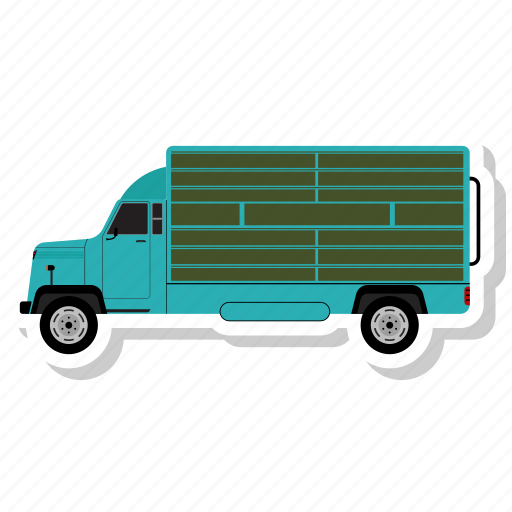 delivery, delivery van, transport, van, vehicle icon