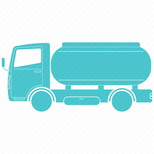 delivery, gas, oil, shipping, truck icon