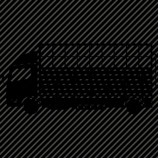 refeer, truck, van, vehicle icon
