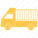 construction, lorry, transportation, vehicle