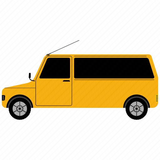 auto, automobile, car, shipping, transport, transportation, van icon