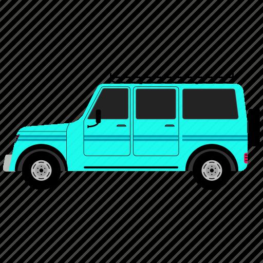 auto, mobile, van, vehicle icon