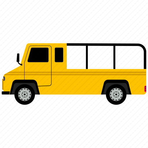 auto, mobile, van, vehicle icon