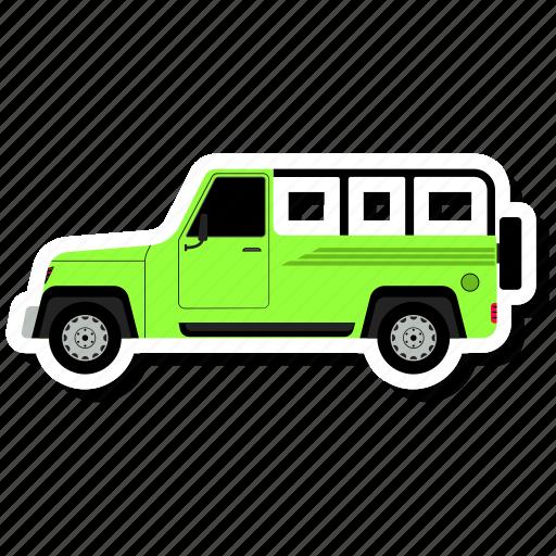 Car, side, transit, van icon - Download on Iconfinder