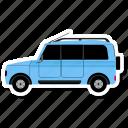 car, transportation, van, vehicle