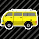 bus, school, transport, van, vehicle
