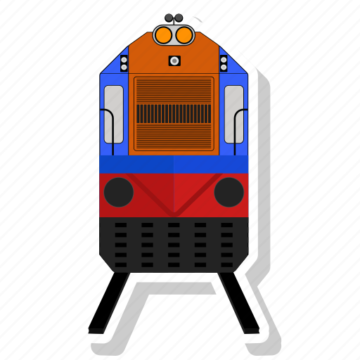 locomotif, train, transportation, vehicle icon