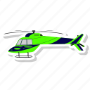 fly, helicopter, plane, transportation
