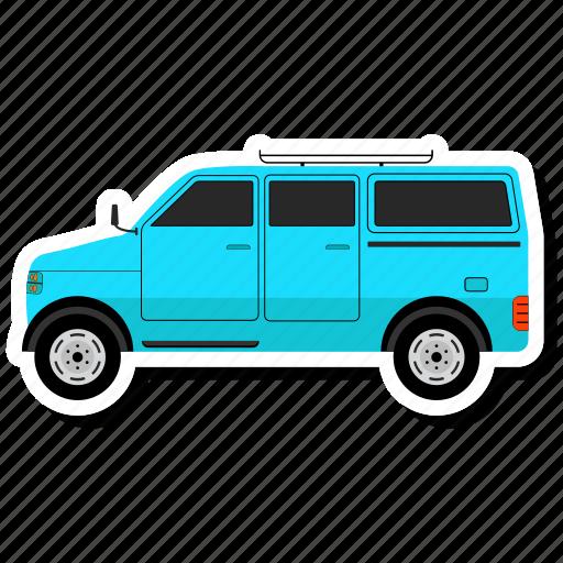 car, side, transit icon