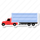 delivery, e-commerce, truck