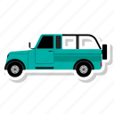 car, van, transportation, vehicle