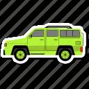 car, transit, van, side