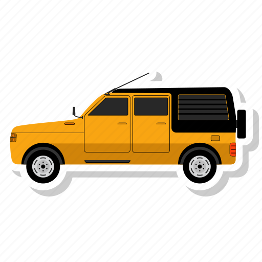 Car, van, transportation, vehicle icon