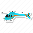 fly, helicopter, plane, transportation icon