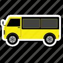 bus, transport, travel, vehicle