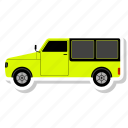 auto, automobile, car, shipping, transport, transportation, van icon