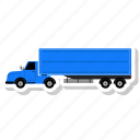 cargo, delivery, shipping, truck