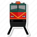 railway, train, transport icon