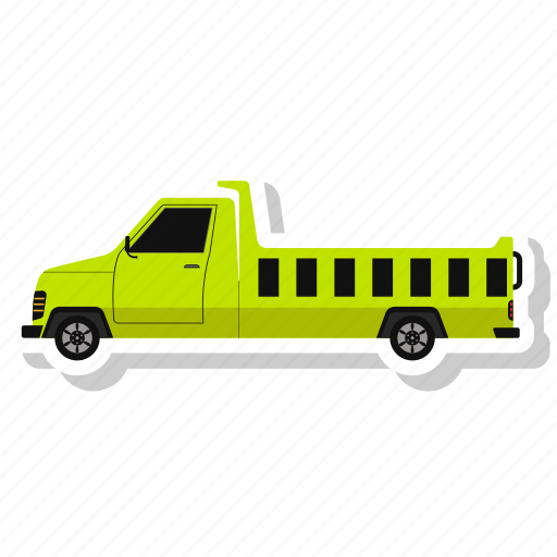 Transportation, delivery truck, truck, vehicle icon