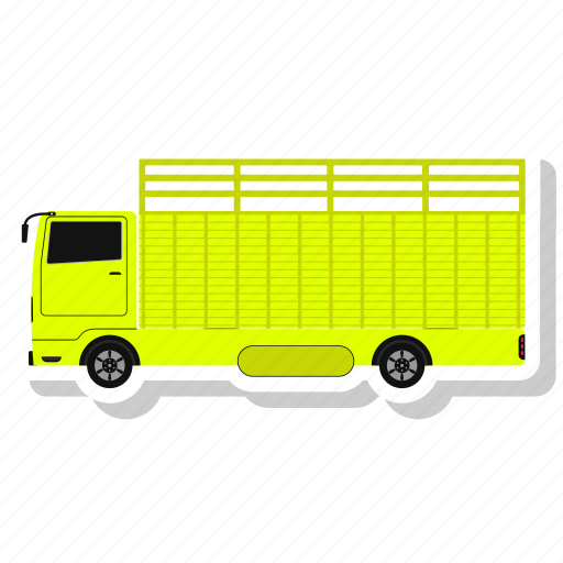 Delivery truck, transportation, truck, vehicle icon - Download on Iconfinder