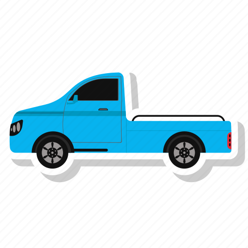 delivery truck, transportation, truck, vehicle icon