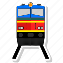 railway, train, travel icon