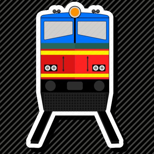 railway, train, travel icon
