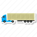 cargo, delivery, load, truck icon