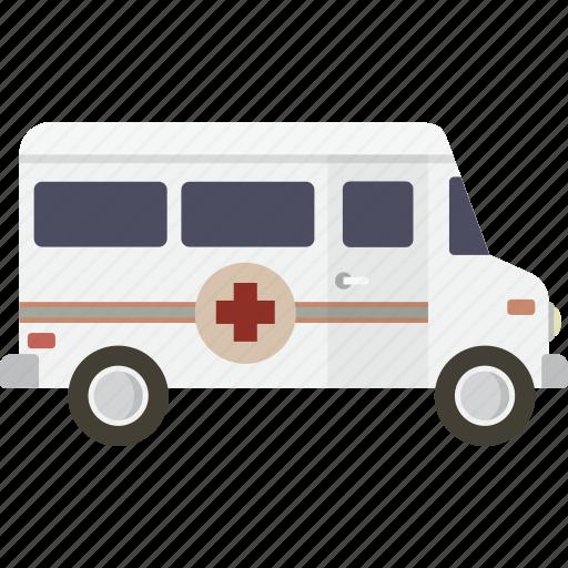 ambulance, emergency, vehicle icon