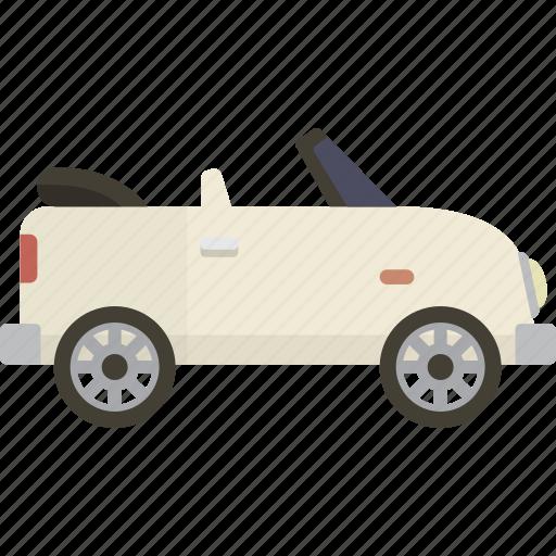 car, convertible icon