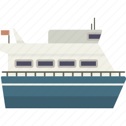 boat, ferry, ship icon