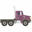 cargo, freight, shipping, tractor, truck icon