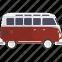 bus, car, van, volkswagon icon