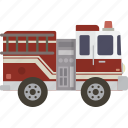 emergency, fire, firetruck, truck icon