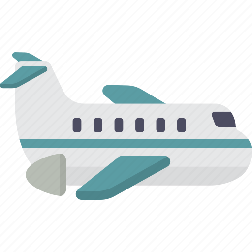 airplane, flight, fly, plane, travel, vacation icon