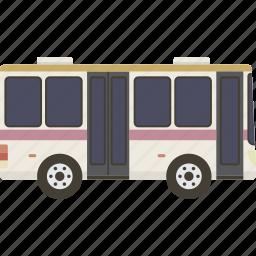 bus, city, public icon