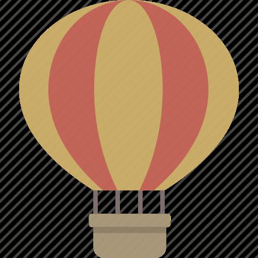 air, balloon, hot, hot air balloon icon