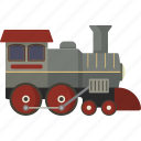 locomotive, railroad, train icon