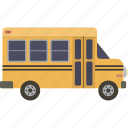 bus, school, schoolbus icon