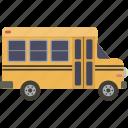 bus, school, schoolbus