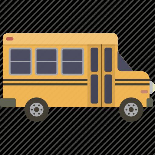bus, school, schoolbus icon